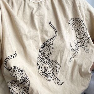 Urban Outfitters Project Social Tiger T-shirt